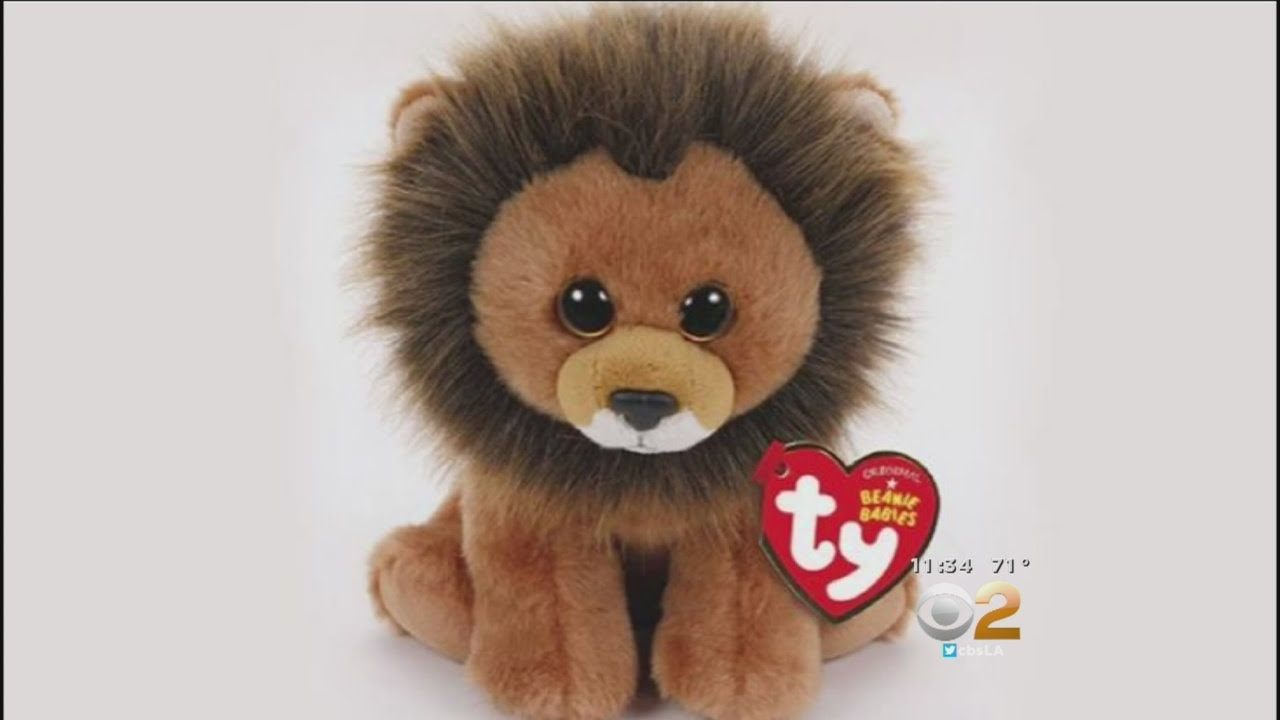 Toymaker Announces Creation Of 'Cecil The Lion' Beanie Baby