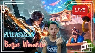 JOKITIME!! PUSH SAMPE PAGI GAES SELESAIN JOKIAN !! || Mobile Legends