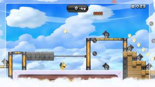 Airship 1-Up Rally Gold Medal - New Super Mario Bros. U (20-Up)