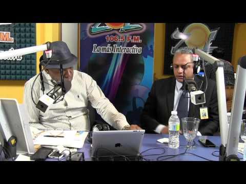 Americo Rodriguez dir. nacional cedulacion y Mario Nuñez hablan de datos en la cédula nueva 2