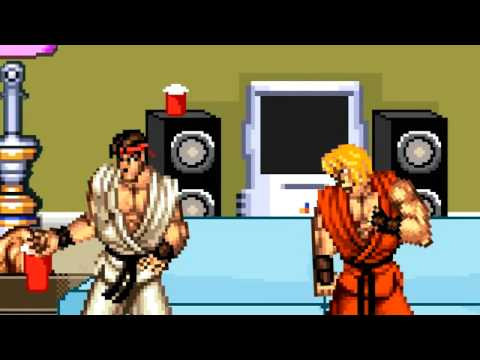 Ken Wants to be Ryu