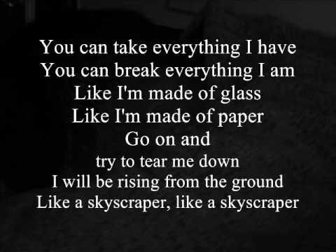 Skyscraper - Demi Lovato (boyce Avenue & Megan Nicole Acoustic Cover) With Lyrics video