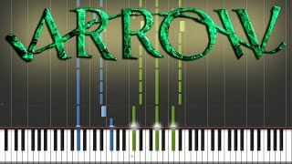 Arrow - Main Theme | Piano Tutorial