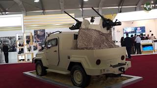 SOFEX 2018 KADDB armoured vehicles and artillery systems Jordan defense industry