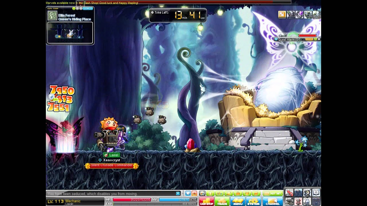Forest Maplestory Maplestory Ellin Forest Boss