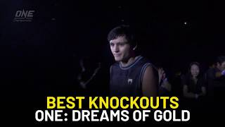 Top 3 Knockouts from ONE Championship: Dreams of Gold