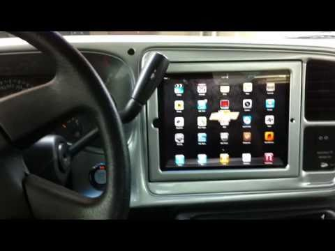 Motorized iPad 2 Install in Silverado
