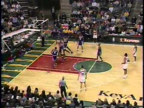 1998 Lakers @ Sonics (Part 2)