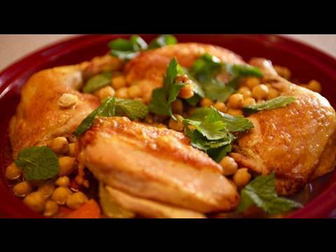 Knife Skills & How To Make a Chicken Tagine (Casserole)
