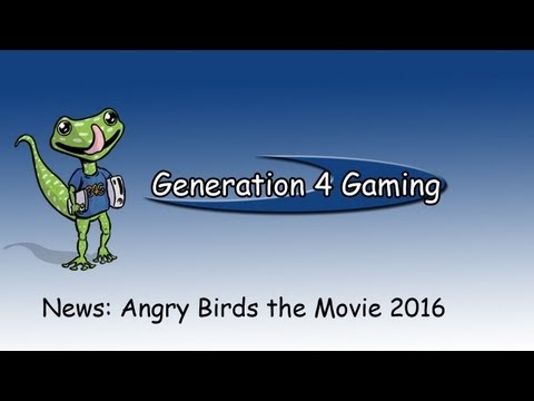 G4Gaming News: Sony Acquires Angry Birds Film Rights 2016