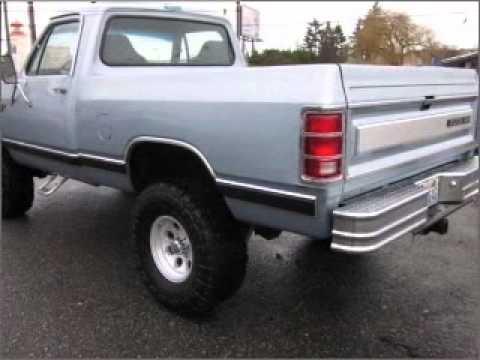 1986 Dodge Ram 150 - Everett WA - YouTube