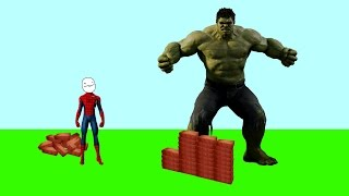 SPIDERMAN & SPIDERGIRL vs HULK Funny Superheroes pranks