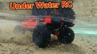 Underwater RC Crawler Car Challenge