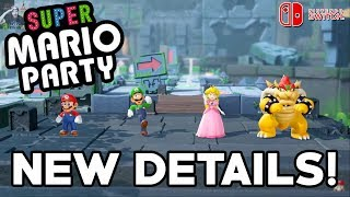 Super Mario Party - NEW Details (Unique Minigames, Toad's Rec Room, Game Format, & More)