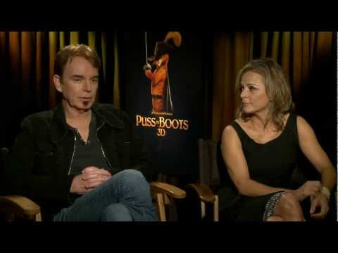 "Billy Bob Thornton & Amy Sedaris Talk About ""Puss in Boots"""