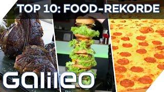 Play this video XXL-Food-Rekorde Vom schwersten Steak bis zur grten Pizza!   Galileo 360  ProSieben