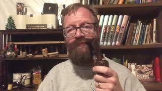 Christmas And Pipes - Impressions Of Cornell and Diehl Jolly Old St. Nicholas Pipe Tobacco