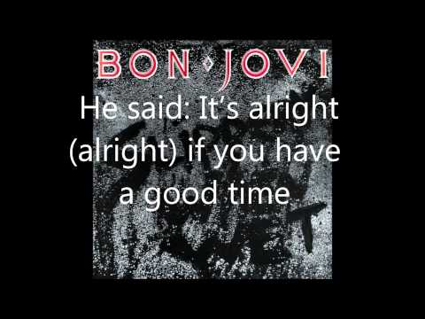 Bon Jovi - Let It Rock