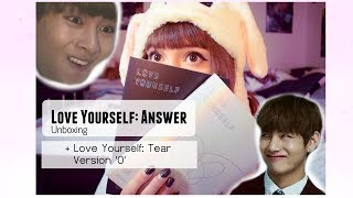 BTS - LOVE YOURSELF: ANSWER (Album Unboxing) (German)