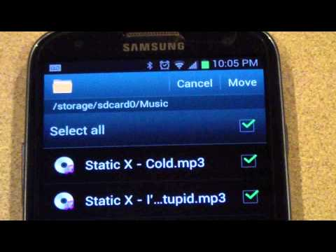 How To Transfer Data Onto External SD Card On The Samsung Galaxy S 3