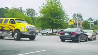 Prank failed BMW 7 series