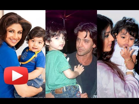 Aishwarya Rai Bachchan, Aamir Khan, Shilpa Shetty -- The Cutest Star Babies