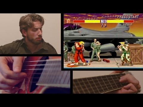 Guile Theme - Street Fighter 2 - Classical Guitar
