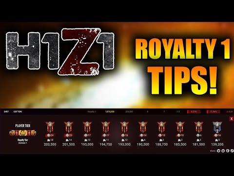 The BEST and EASY way to get ROYALTY 1 in H1Z1! Pre-Season 5 Easiest Royalty tip! (H1Z1 KOTK Tricks)