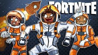 Dancing Astronaut's Spaceship Victory Royale?! - Fortnite Battle Royale
