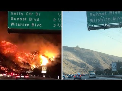 La Fires 24 Hours Later
