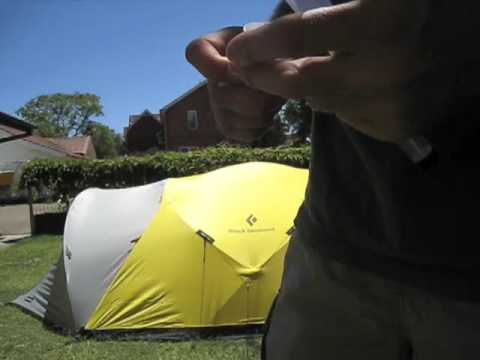 Seam sealing my tent