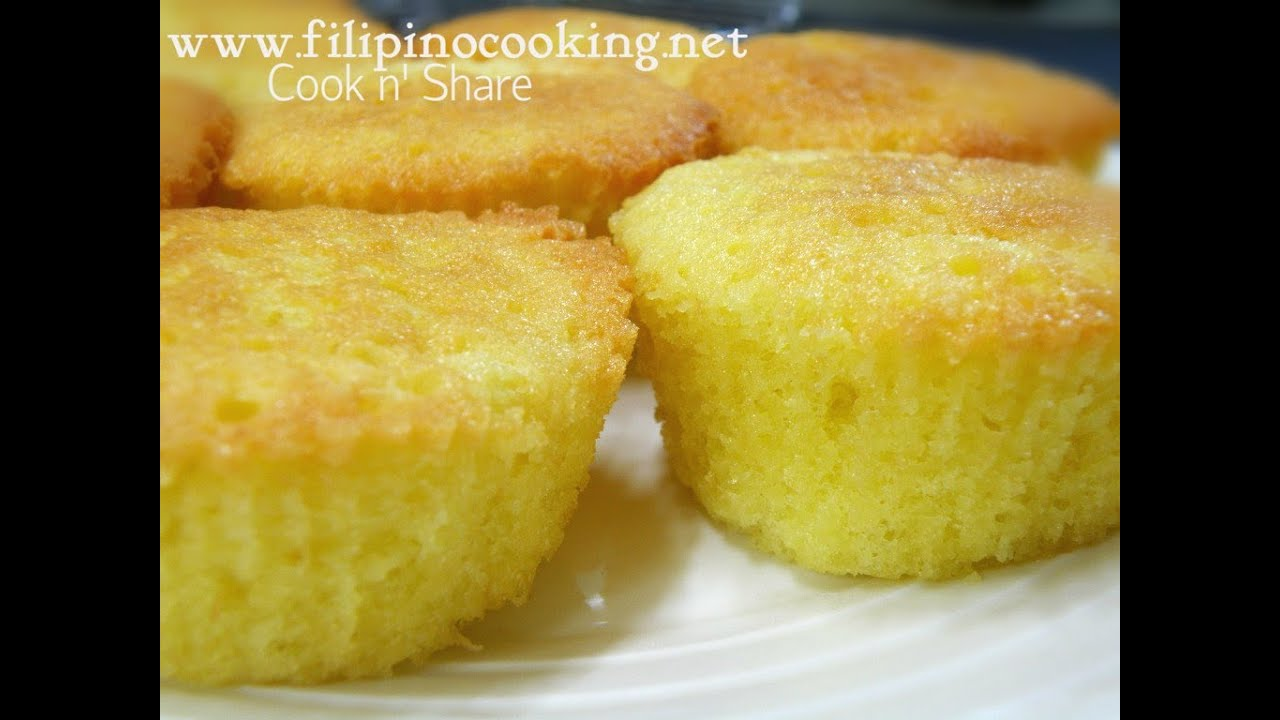 Mamon Cake Pinoy Recipe