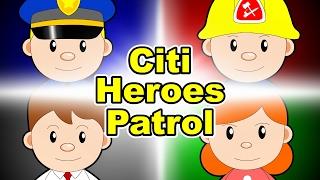 """Citi Heroes Patrol @""""Citi Heroes"""" CARtoons"""