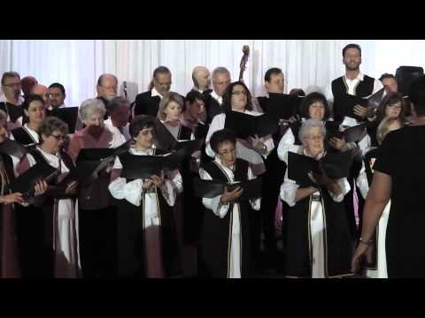 "The St. Nicholas Serbian Orthodox church choir of Hamilton, Ontario (accompanied by Prijatelji) performing ""Oj Moravo"" (Narodno) & ""Svilen Konac"" (arr. by Mi..."