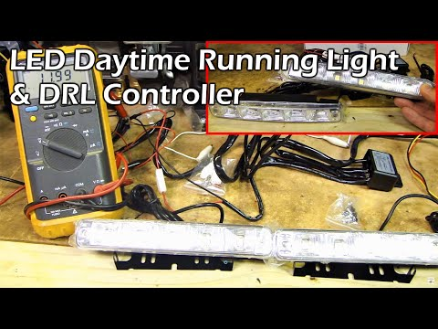 LED DRL (Daytime Running Light) & Controller Module Review