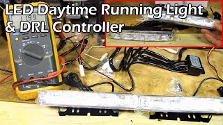 LED DRL (Daytime Running Light) & Controller Review