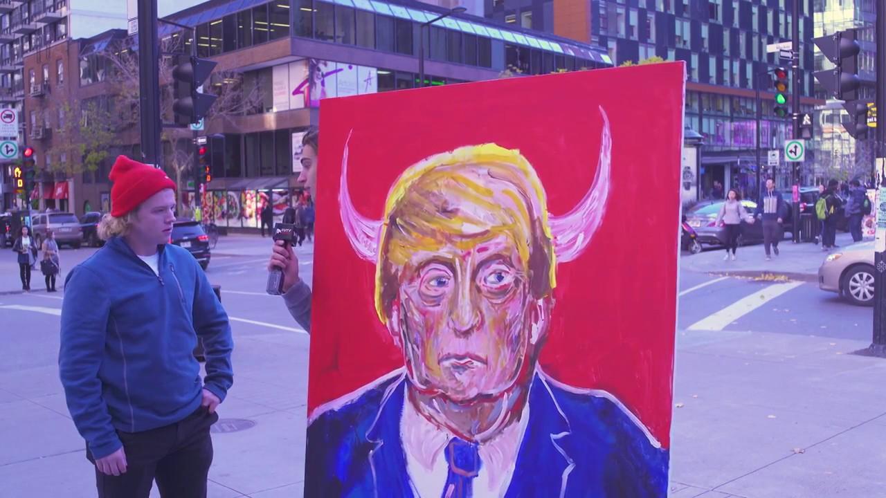 CUTV News Presents Trump as President