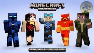 MINECRAFT XBOX NEW SKIN PACK 2 SKINS REVEALED AND RELEASE DATE??