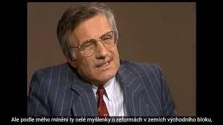 Václav Klaus v ORF 12.11.1989-pět dní před událostmi na Národní třídě