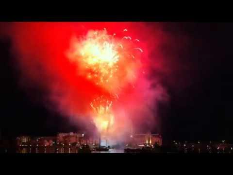 canada day fireworks toronto. Canada Day fireworks in