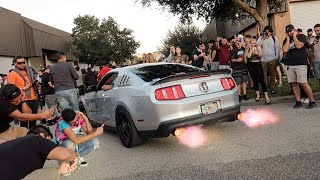 Mustang Owners Blows Motor while 2 stepping