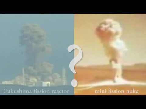 福島第一 Fukushima ☢ Nuclear Blast? video