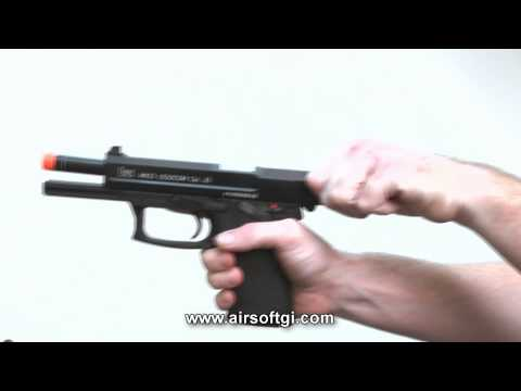 Airsoft GI - Review of the KWA Mk23 US Socom airsoft pistol