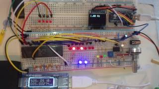 Z80A CPU Adress scan, ZILOG CPU