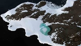 Climate change turning Antarctica green, but why?