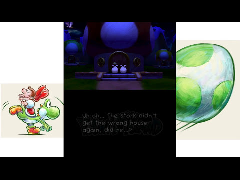 Yoshi's New Island - Final Boss & Ending (3DS)