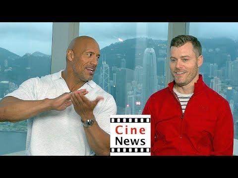 Skyscraper – Interview: Dwayne Johnson & Rawson Marshall Thurber