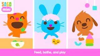 Baby Dress Up Pretend Play Baby Care Kids Game Sago Mini Babies