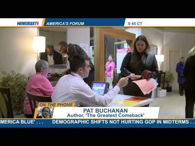 America's Forum | Pat Buchanan discusses the border crisis