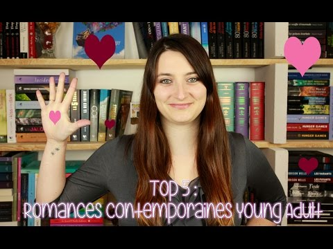 TOP 5 | ROMANCES CONTEMPORAINES YOUNG ADULT